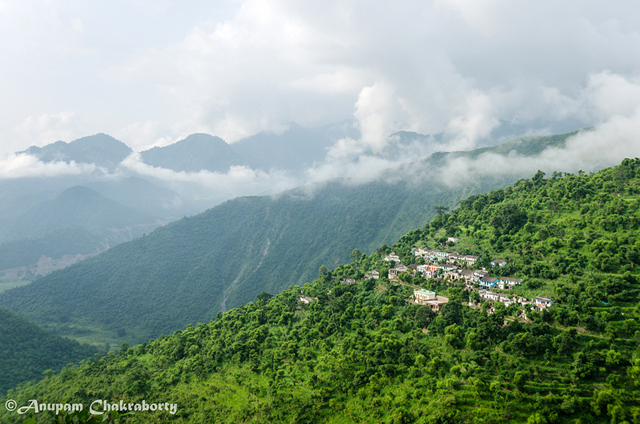 A small hamlet about 10-12kms before Devprayag