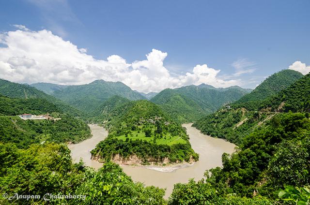 Our Journey to Rudraprayag along the river Alakananda