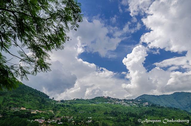 A viewof mountain village Gopeswar
