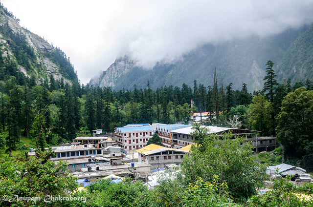 Ghangaria, the beautiful base camp ofValley of Flowers.