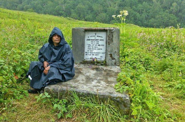 Grave Stone of Botanist Joan Margeret Legge