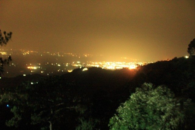 Curtains Down : The view of Chandigarh from Kasauli