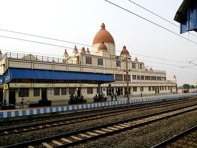 View of the joychandipahar railways station