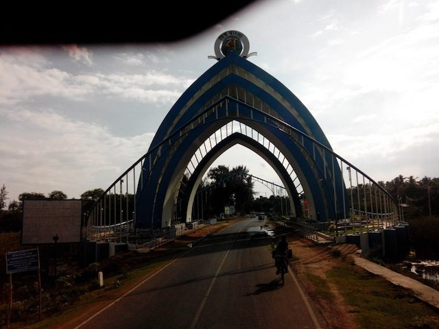 Welcome to Digha : The Biswa Bangla Gate