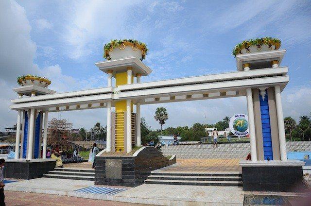 Entrance of the Biswa Bangla Park