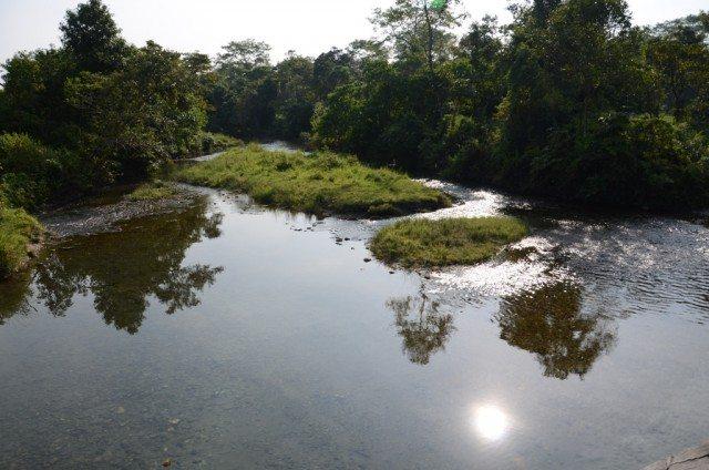 Crossing a rivulet
