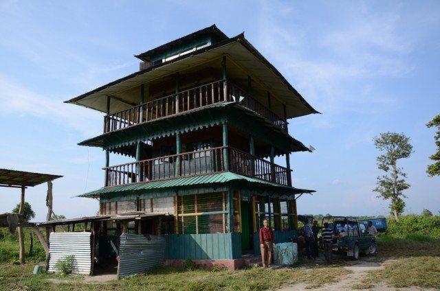The Harindanga watchtower