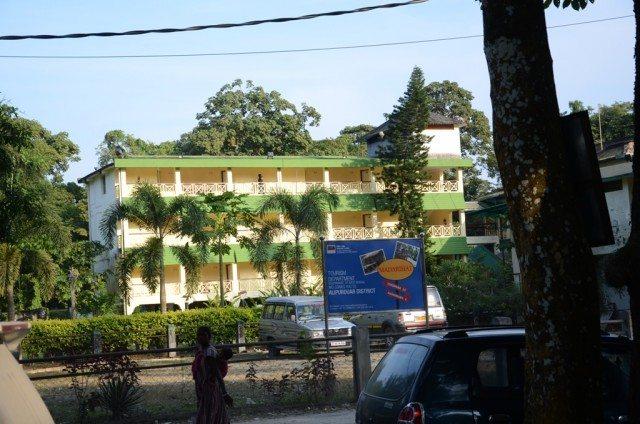 The Jaldapara tourist lodge