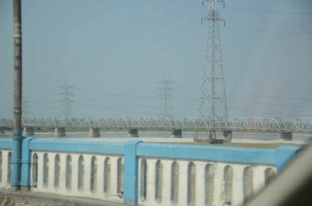 Bridge over the river Teesta