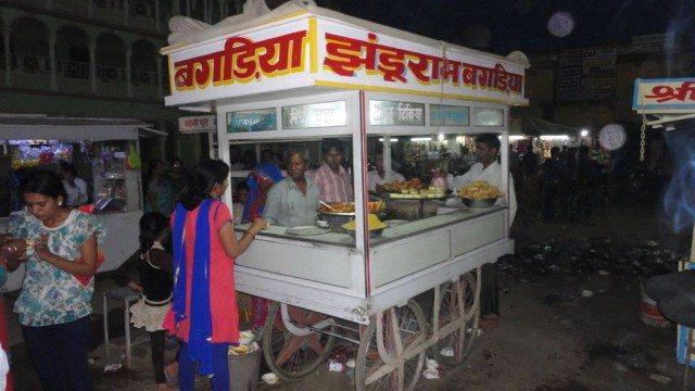 Chaat stalls