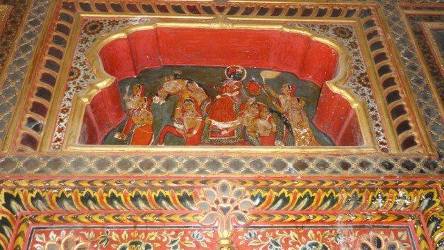 Lord Krishna on horse