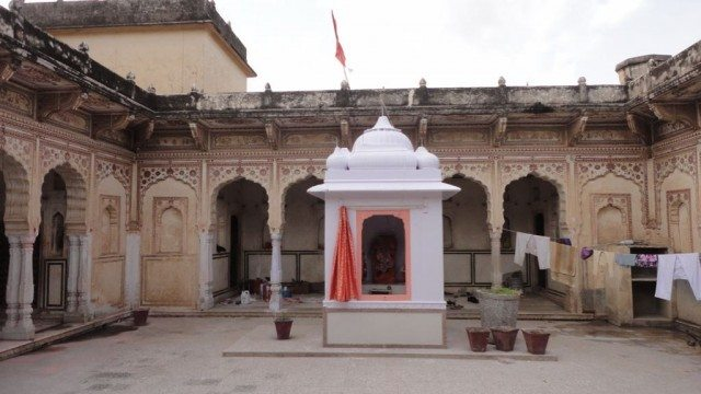 Temple at the courtyard