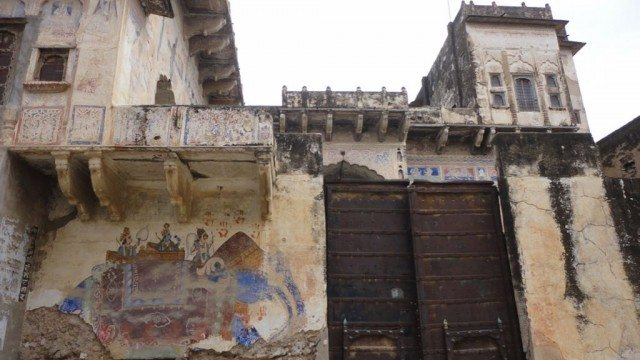 Another neglected haveli