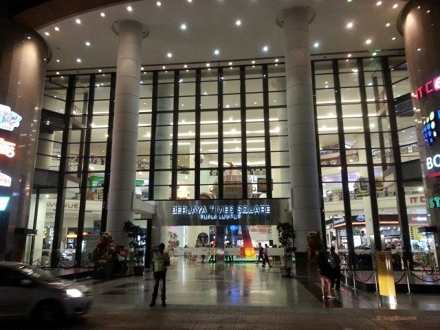 Entrace of Birjaya Times Square