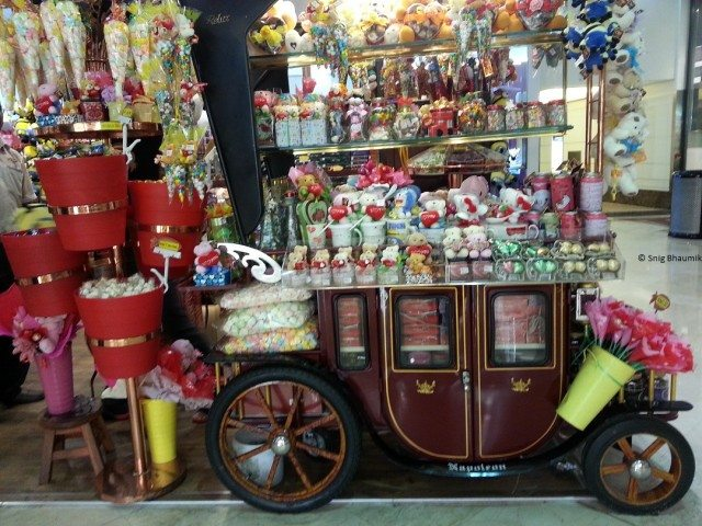 Truckload of Candies