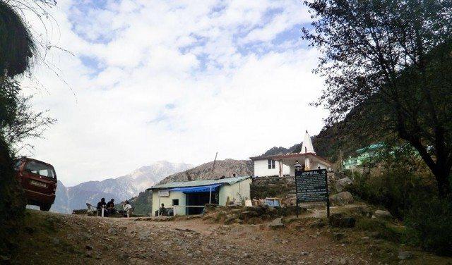 माता गालू दुर्गेश्वरी मंदिर (पर्वतारोहण आरम्भ स्थल)