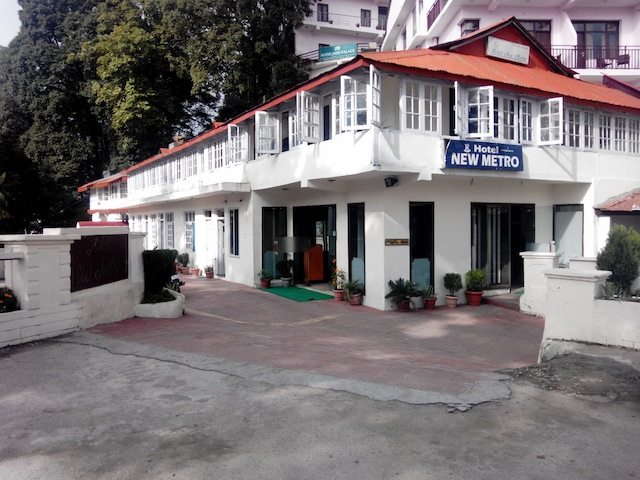 The hotel where we stayed at Dalhousie