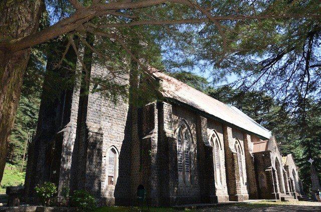 An ancient church - St.John in the wilderness