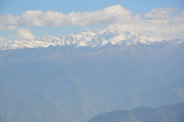 Another majestic view of the great Himalayan peaks