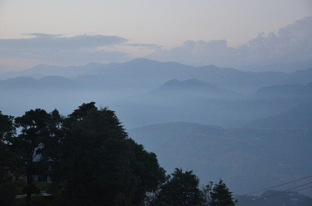 The Dhauladhar range