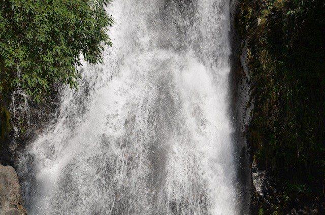 The Bhagsu Nag waterfall