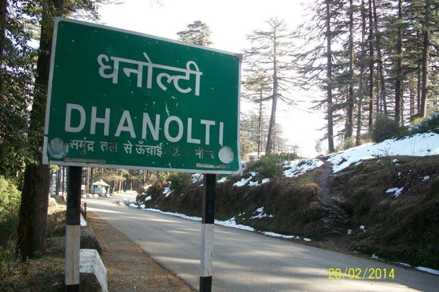 Finally Dhanaulti it is !!!!