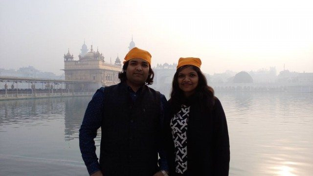 At Golden Temple