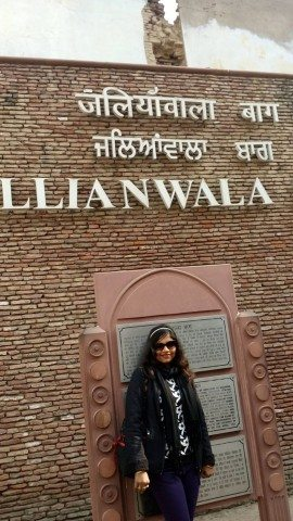 At Jallianwala Bagh