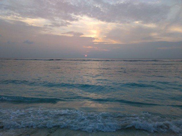 Sunrise in Agatti