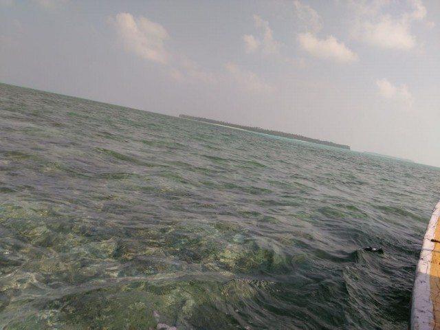 First glimpses of Bangaram Island