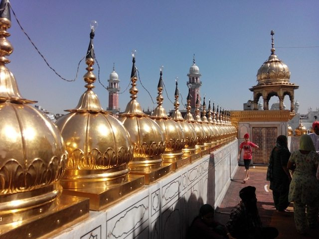 The domes on the roof top