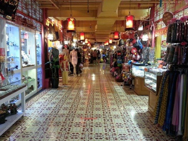 Inside Central market