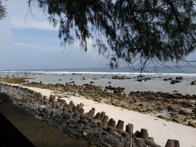 Kavaratti Beach near Guest House