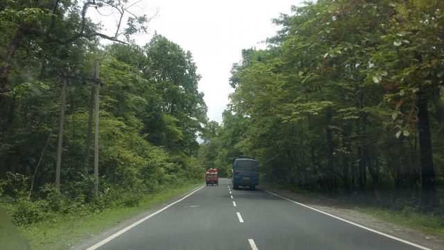 Great roads after Siliguri