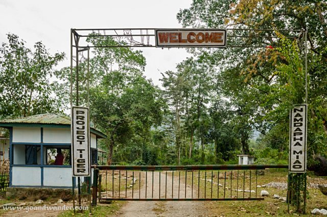 Entry Gate to Namdapha National Park