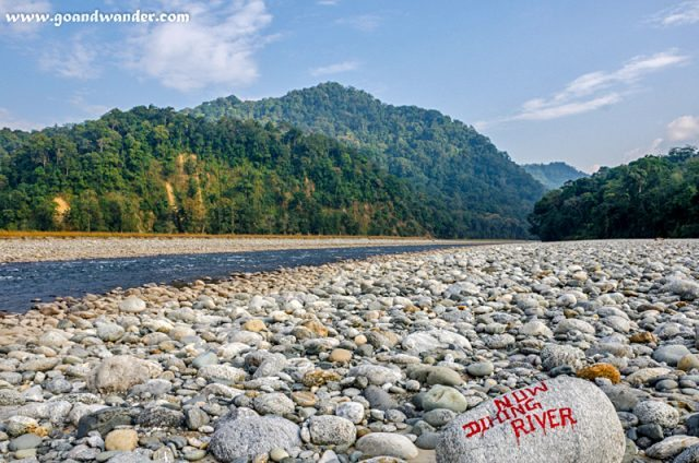 Noa-Dihing or Now-Dihing River at Namdapha National Park