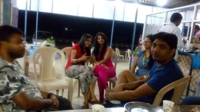 Midnight masti with friends