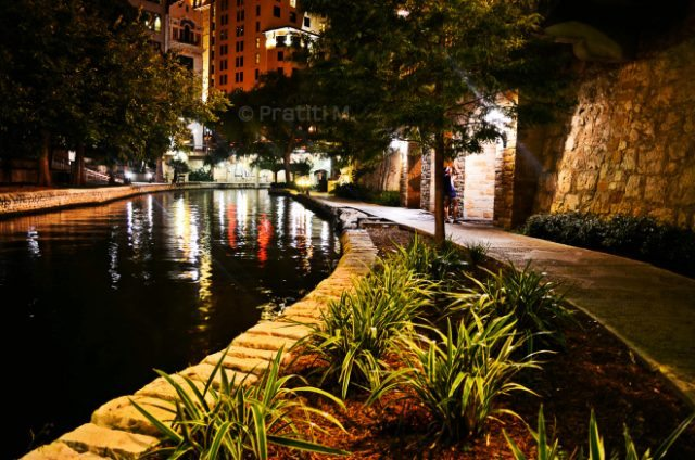 Glimpses of the Riverwalk, San Antonio