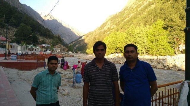Along Bhagirathi River--Gangotri