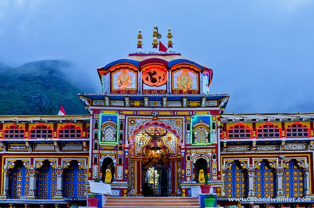 Singha-Dwar, the entrance gate of Badrinath Temple
