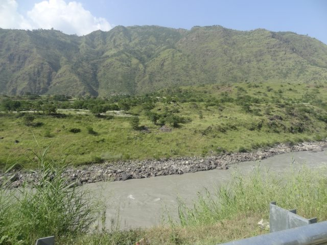 First view of Sutlej River