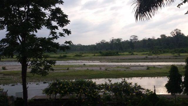River Murti from the Balcony of Banani Resort