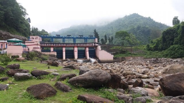 Bindu Dam at Indo-Bhutan Border
