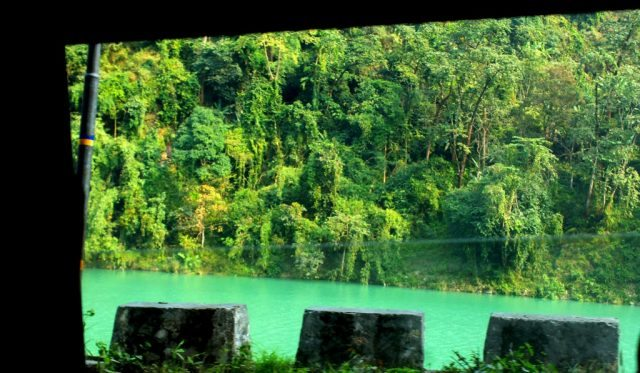 Emerald Waters of River Teesta