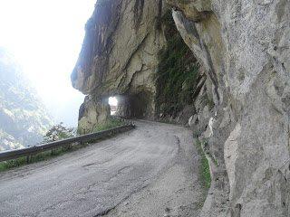 Roads towards Kinnaur