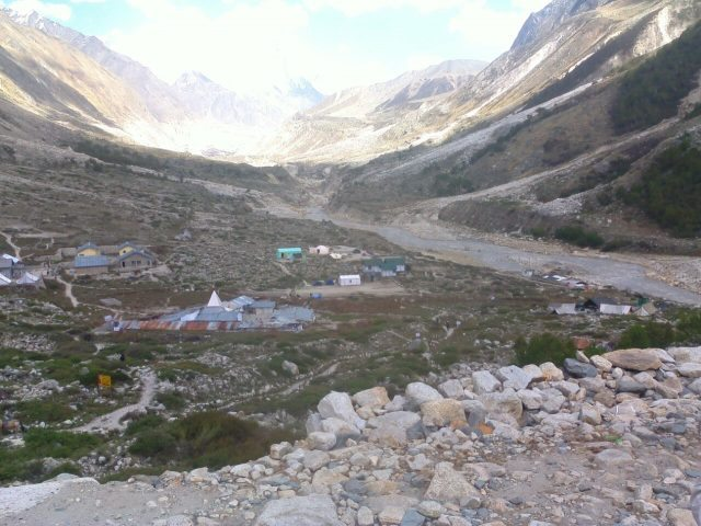 View of Bhojwasa 14 Km from Gangotri