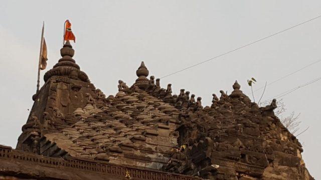 नारोशंकर मंदिर  की छत