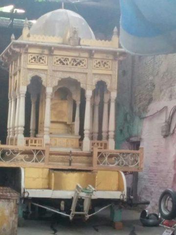 कालेराम मंदिर का रथ