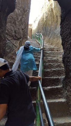 पर्वतीय सीढ़ियाँ