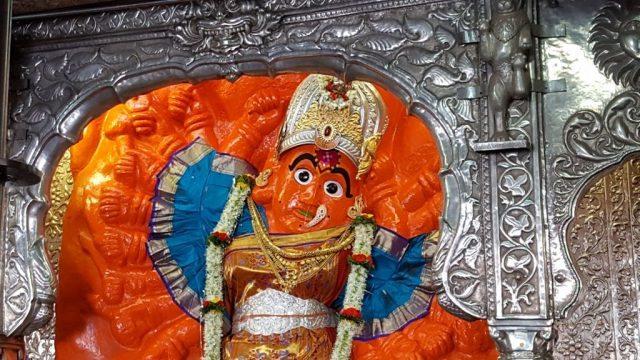 अष्टादश भुजाओं वाली सप्त्श्रींगी देवी